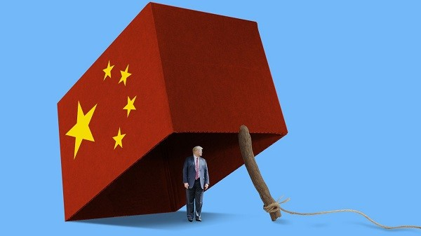 Is China trustworthy? image source: AXIOS